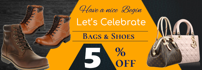 Bags And Shoes Banner